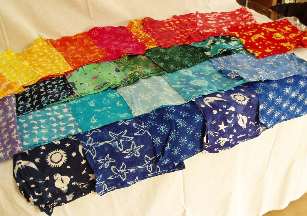 bandana quadrata batik