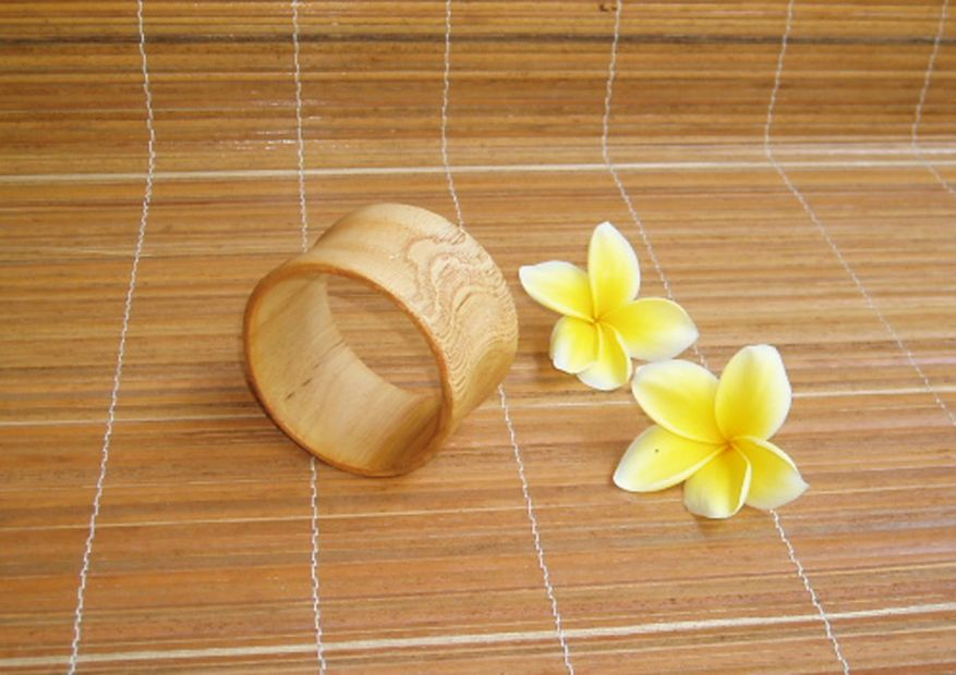 bangle legno, 4 pz in 2 misure